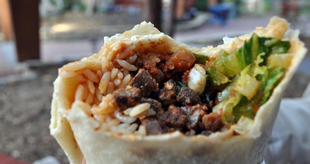 Korean BBQ Burrito by Bill Roehl