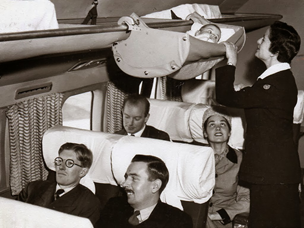British Airways Baby Skycot, circa 1950