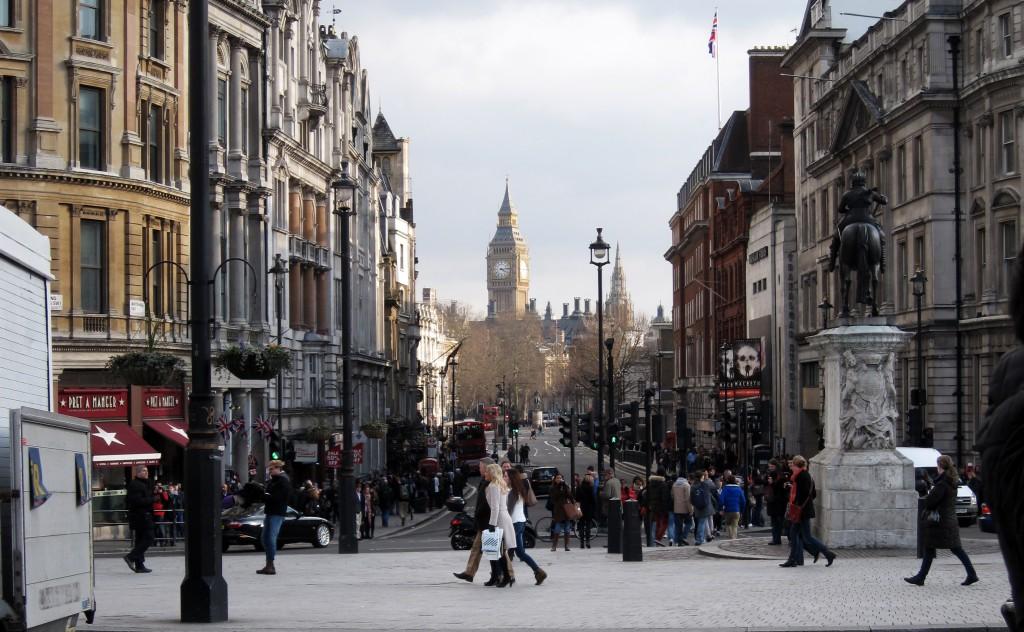 Big Ben Trafalgar Square