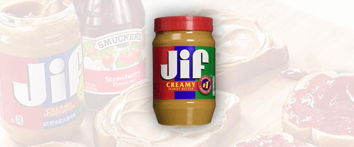 Jif Peanut Butter Jar