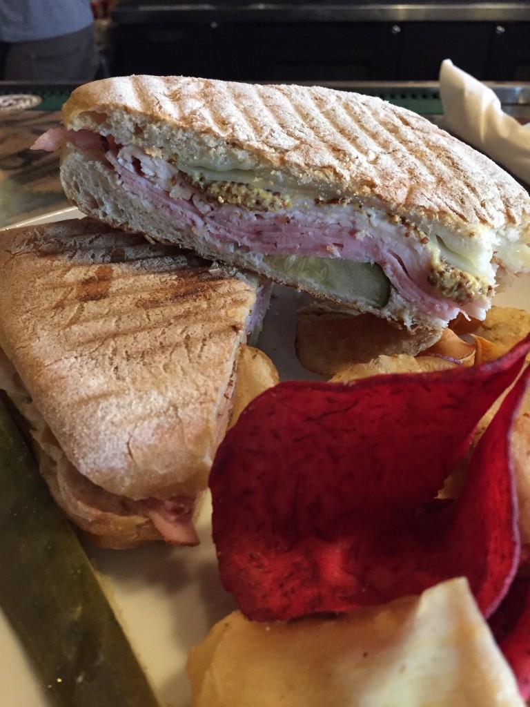 Cuban sandwich Caryl's Bistro