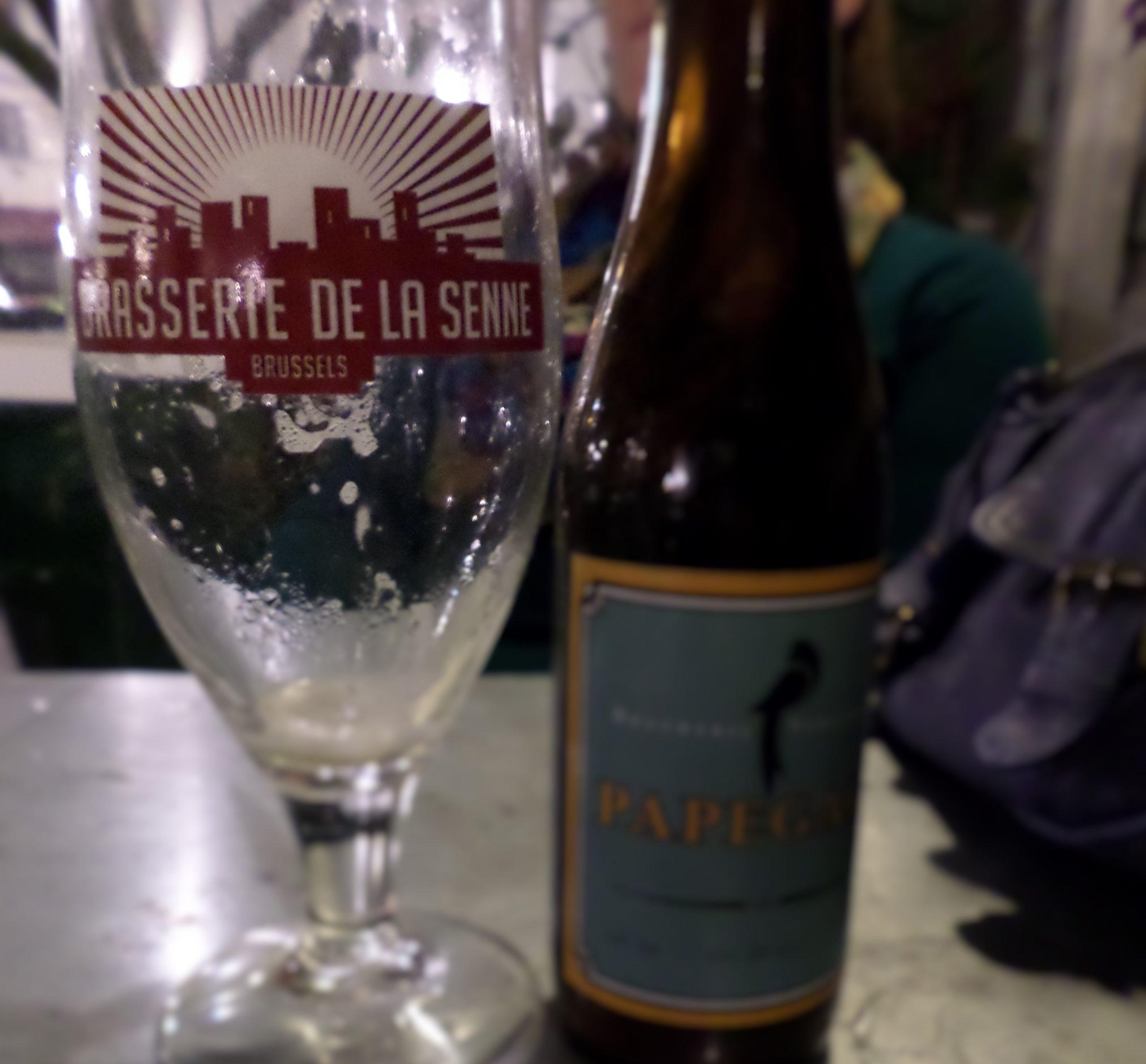 Beer in Brussels