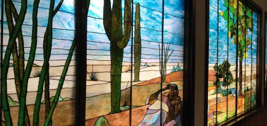 Tiffany Stained Glass, Douglas Arizona