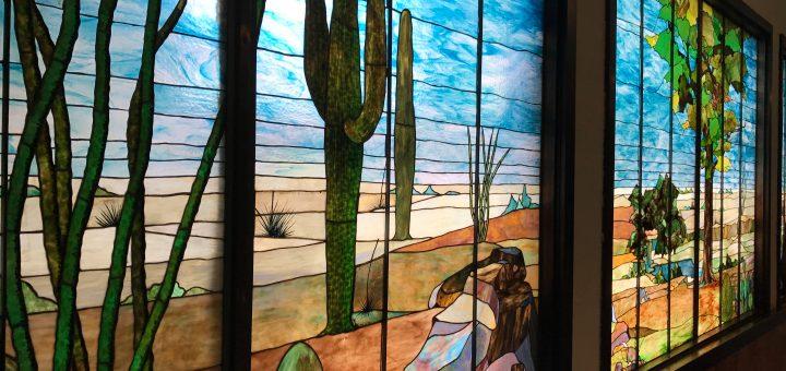 Tiffany Stained Glass, Douglas Arizona