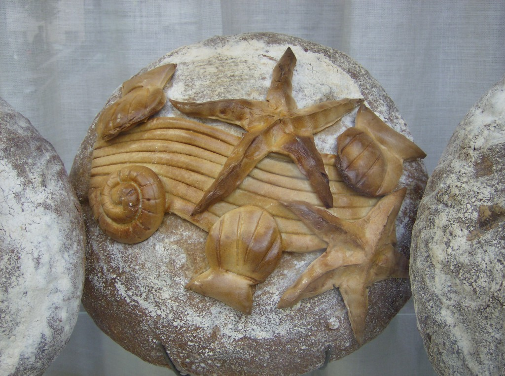 Decorative bread in Paris
